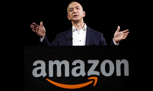 CEO Amazon Jeff Bezos: