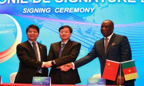 Huawei khoi cong lam tuyen cap quang moi dai 6.000km