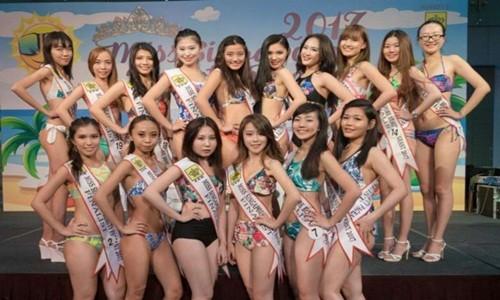 Nhan sac dan thi sinh Hoa hau Singapore bi che gia, xau