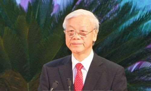 Tong Bi thu Nguyen Phu Trong se tham chinh thuc Indonesia va Myanmar