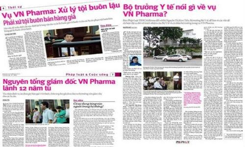 Khoang toi vu VN Pharma se duoc boc tran