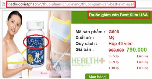 TPCN Best Slim lua khach bi phat... con chua chat cam nguy hiem-Hinh-2