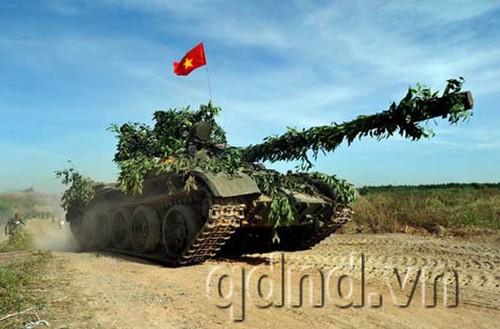 Man nhan clip oai hung Quan doi Nhan dan Viet Nam
