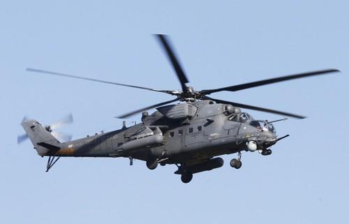 Nga ban 4 truc thang tan cong Mi-35M cho Pakistan
