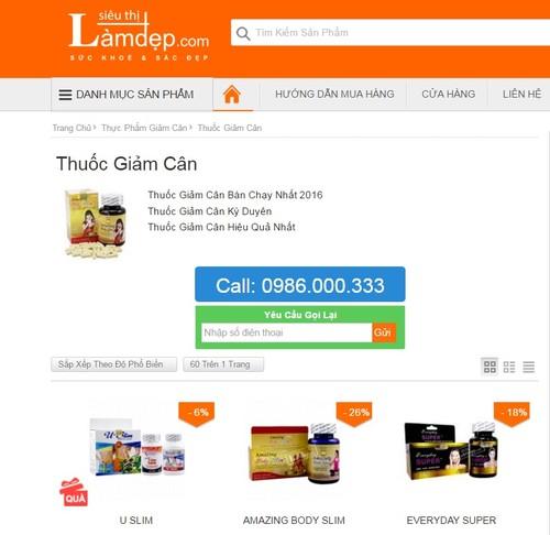 TPCN Best Slim quang cao lua doi khach hang, bi phat 50 trieu-Hinh-3