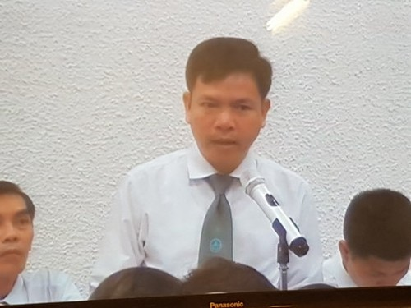 """Dai an OceanBank: """"Toi cua Nguyen Minh Dao la toi lam giam doc"""""""