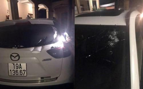 Dung vu khi nong truy sat tai xe: Xac dinh 2 nghi can