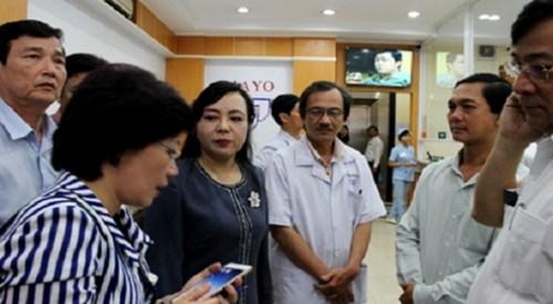 TP.HCM: Hau het phong kham co yeu to nuoc ngoai khong dat chat luong