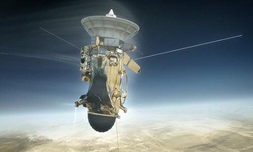 """Toi nay, NASA phat truc tiep canh tau vu tru Cassini """"tu sat"""""""