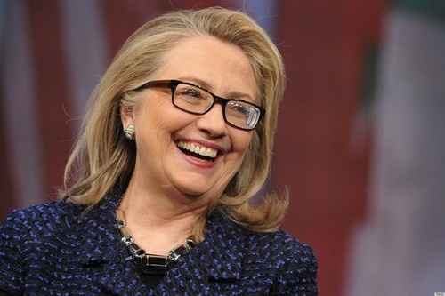 Ba Clinton co tro thanh nu Tong thong My dau tien?