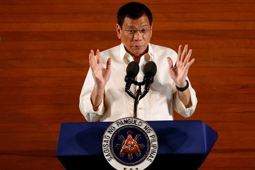 Bao My: Ong Duterte giao bai can Scarborough cho Trung Quoc
