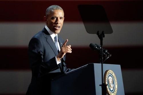 Noi dung noi bat trong dien van tu biet cua ong Obama