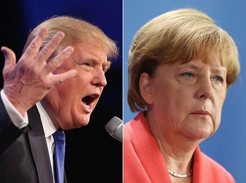 Ong Trump chi trich chinh sach ti nan mo cua cua ba Merkel