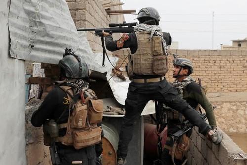 An ninh Iraq kiem soat tru so chinh quyen Mosul
