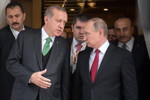 """Cac ben sap chap thuan de xuat 4 """"an toan khu"""" o Syria"""