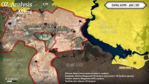 Quan doi Syria thang nhu che tre o phia dong Aleppo-Hinh-4