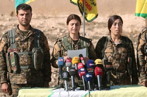 Syria: SDF phat dong tong tan cong danh chiem Raqqa
