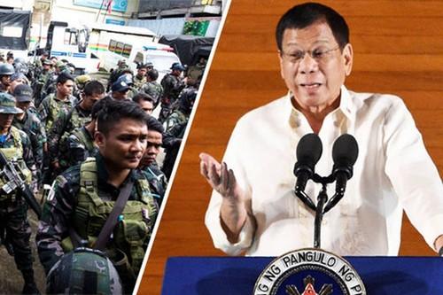 Tong thong Duterte khong he biet chuyen My giup o Marawi