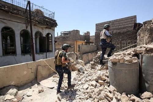 Quan doi Iraq tan cong hang o IS cuoi cung o Tay Mosul
