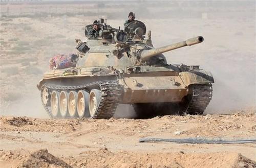 Phien quan IS thua lieng xieng tren chien truong Syria