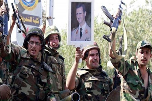 "Quan doi Syria giai phong ""Tam giac Arak"", tien ve huong Deir Ezzor"
