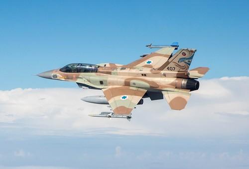 Khong quan Israel yem tro phien quan tan cong Quan doi Syria