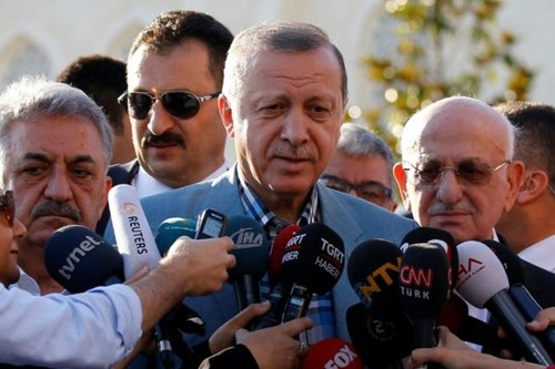 Tong thong Erdogan: Tho Nhi Ky khong rut quan khoi Qatar