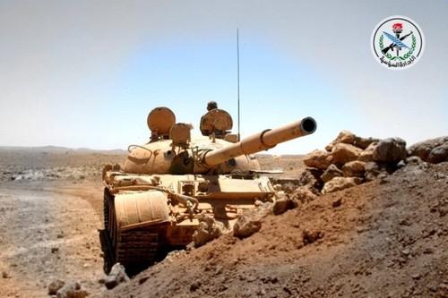 Phien quan IS bi danh toi ta o mien trung Syria