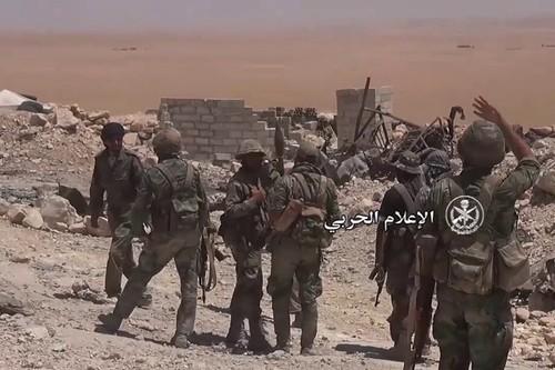Tin nong: Quan doi Syria giai phong 80% thi tran Al-Sukhnah