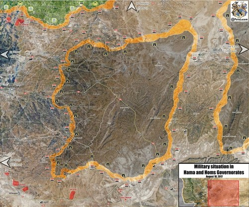 Ngay tan cua phien quan IS o mien Trung Syria