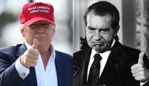 Su tuong dong kinh ngac giua ong Trump va Tong thong Nixon