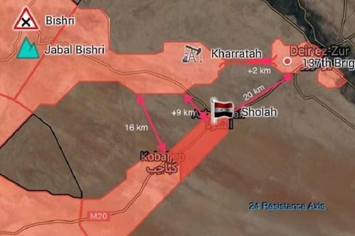 Chien dich giai phong Deir Ezzor: Ngay tan cua phien quan IS