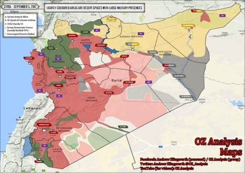 Quan doi Syria lam gi, sau khi giai phong TP Deir Ezzor?
