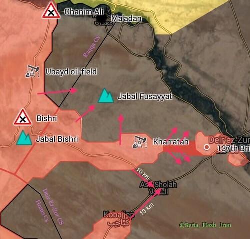 Quan doi Syria mo rong hanh lang den thanh pho Deir Ezzor