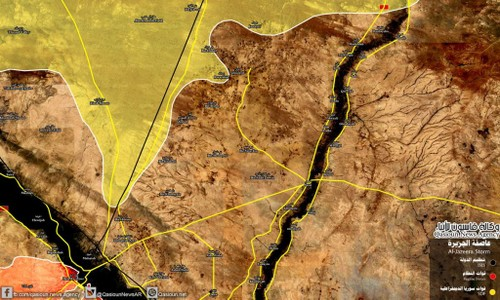 Quan doi Syria chan duong SDF toi thi tran Albu Kamal?