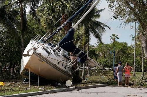 Bao Irma gay thiet hai nang ne cho Cuba va My