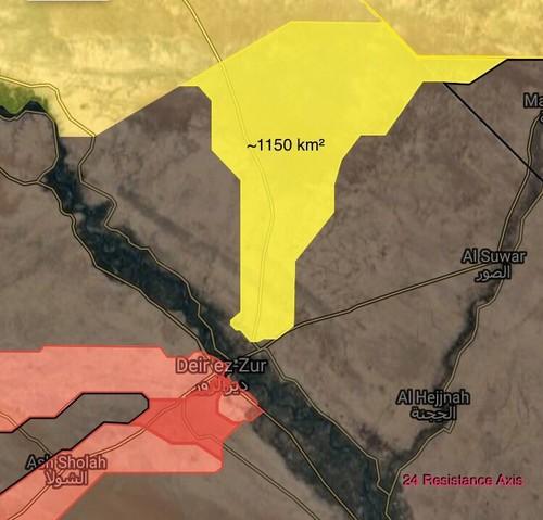 Quan doi Syria vuot song Euphrates chan da tien cua SDF-Hinh-2