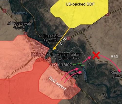 Quan doi Syria tien nhanh ve phia nam thanh pho Deir Ezzor-Hinh-2