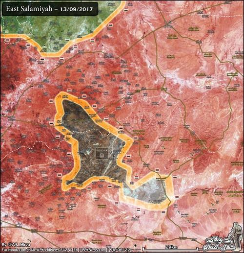 Quan doi Syria tien nhanh ve phia nam thanh pho Deir Ezzor-Hinh-3