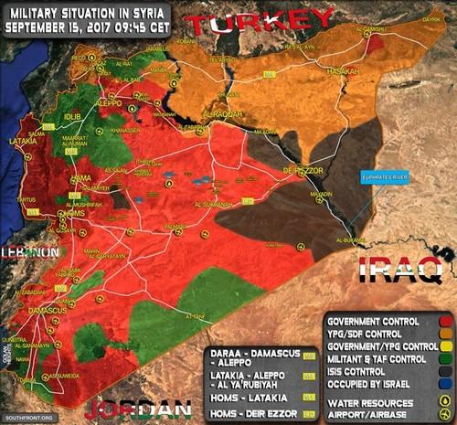 IS mat 70% lanh tho o Syria ke tu dau nam 2017