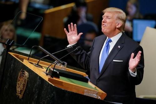 "Dang sau viec Tong thong Trump de doa ""huy diet"" Trieu Tien"