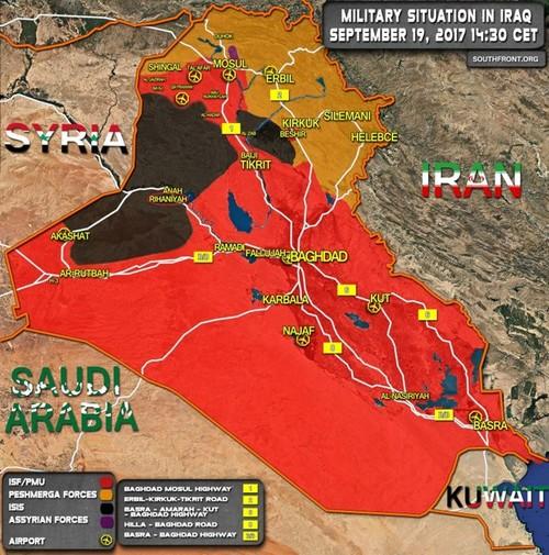 Quan doi Iraq giai phong Rayhannah tren duong cao toc Deir Ezzor-Baghdad-Hinh-2