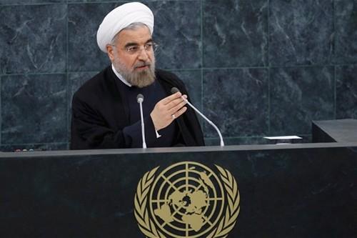 "TT Iran: Ong Trump ""ngao man, dien ro"" truoc Dai hoi dong LHQ"