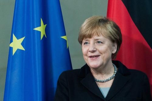 Bau cu Duc: Thang loi lai thuoc ve Thu tuong Angela Merkel?