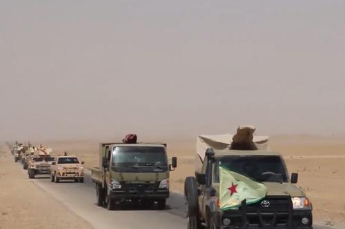 Nguy co dung do giua Quan doi Syria va SDF o Deir Ezzor