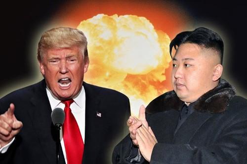 "Ong Trump cung theo duoi chinh sach ""Tien quan"" nhu Trieu Tien?"