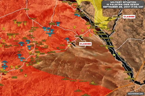 Quan doi Syria danh bat IS khoi duong cao toc Sukhnah-Deir Ezzor-Hinh-2
