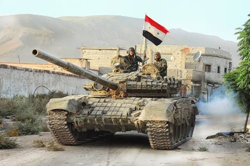 Quan doi Syria nghien nat phien quan IS o tay Deir Ezzor