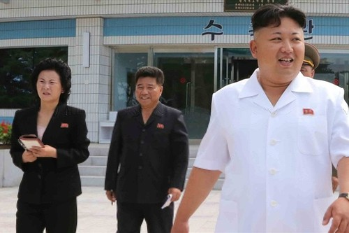 Ong Kim Jong-un co cau em gai vao Bo Chinh tri quyen luc