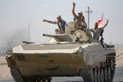 Cac luc luong Iraq kiem soat hoan toan thanh pho Kirkuk